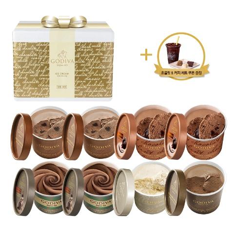 [NEW] 컵 아이스크림 8개 세트 (+커피&초콜릿 세트 쿠폰)