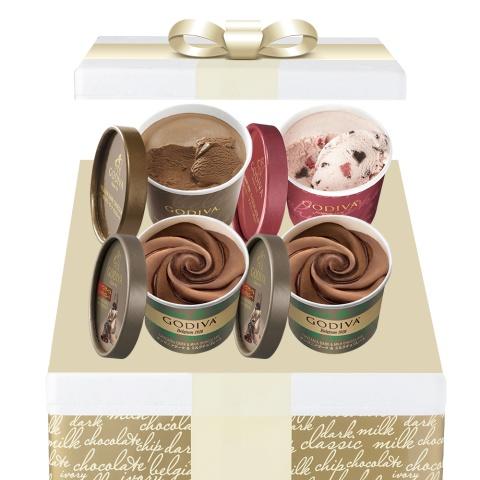 [NEW] 컵 아이스크림 다크+딸기+탄자니아 4입 세트 (커피 1+1 쿠폰 증정)