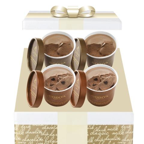 [NEW] 컵 아이스크림 4입 다크+밀크 세트 (커피 1+1 쿠폰 증정)