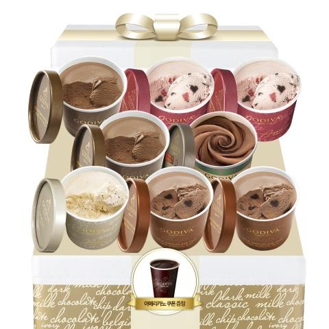 [NEW] 컵 아이스크림 8입 세트 (커피, 초콜렉사 1+1 쿠폰 증정)