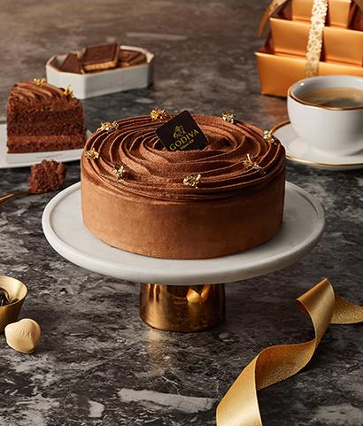 초콜릿 레이어 케이크<br> Chocolate Layer Cake